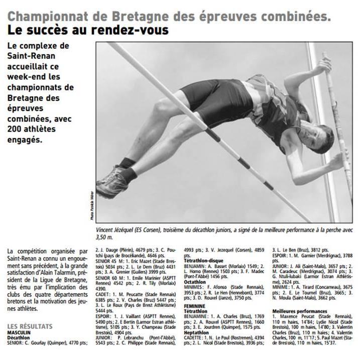 Le Télégramme - 13 mai 2013