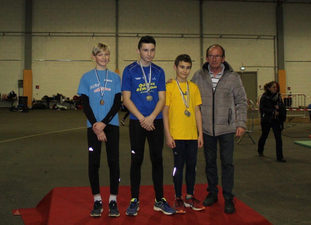 Milo Kusberg médaille de bronze au saut en hauteur