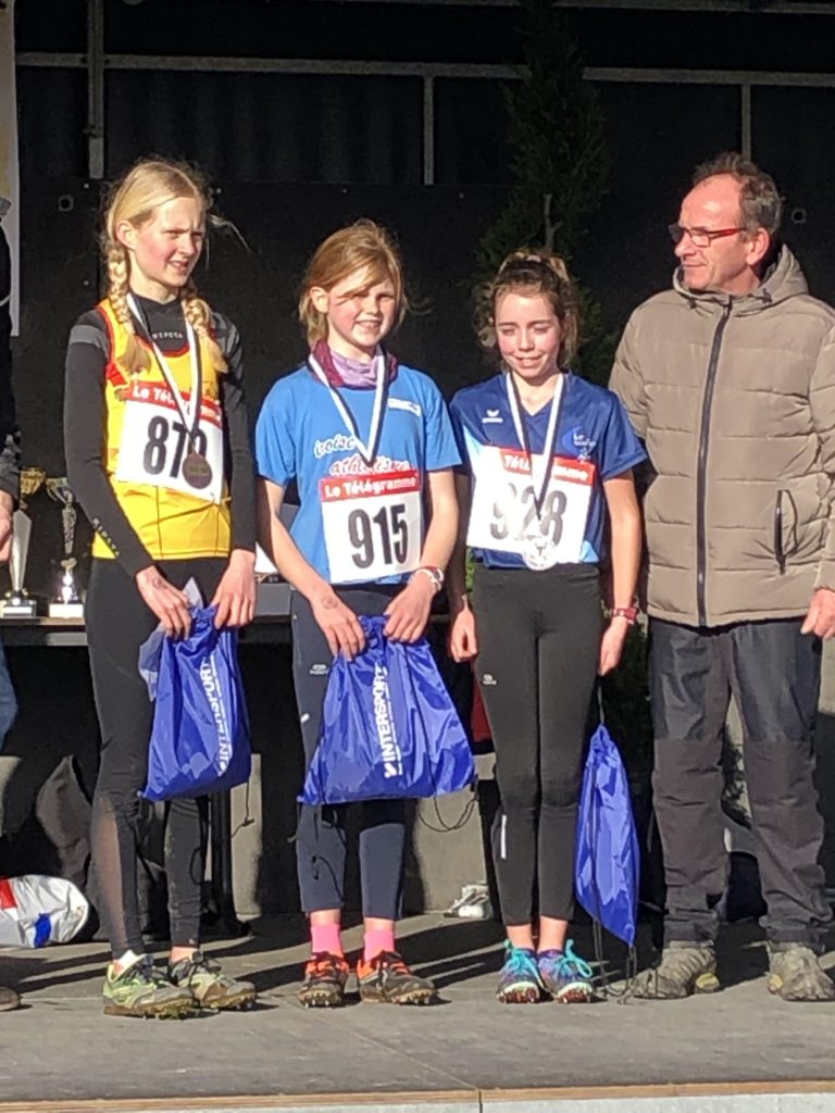 Championne du Finistère!